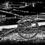 Artillery At Gettysburg Art Print