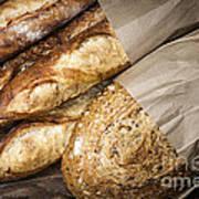 Artisan Bread Print by Elena Elisseeva