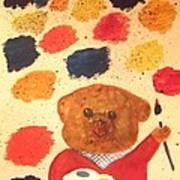 Artisan The Bear Art Print