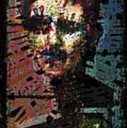 Artist As Self Portrait. Art Print