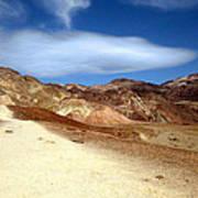 Artist Pallet Death Valley Art Print