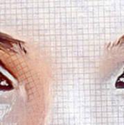 Artistic Eyes Art Print