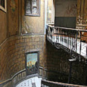 Artistic Staircase In Tbilisi Art Print