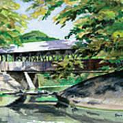 Artists Bridge September Art Print