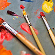 Artist's Palette Art Print