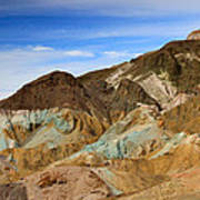 Artists Palette Death Valley National Park Art Print