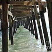 Long Walk Short Pier Art Print