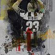 Arturo Vidal - B Art Print
