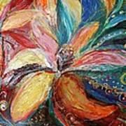 Artwork Fragment 06 Art Print by Elena Kotliarker