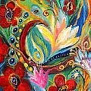 Artwork Fragment 26 Print by Elena Kotliarker
