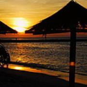 Aruba Sunset Art Print