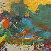 As The Storm Recedes  Art Print