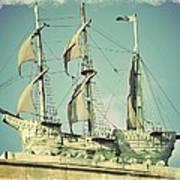 Asbury Park Convention Hall Ship Art Print