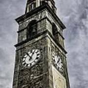 Ascona Clock Tower Art Print