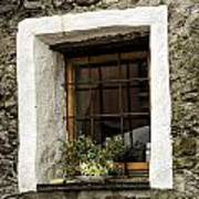 Ascona Window Art Print