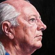 Ashby's Portrait Art Print by Deborah Allison