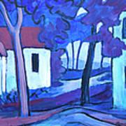 Ashcroft Manor Buildings Art Print
