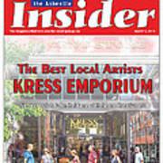 Asheville Insider Magazine Art Print