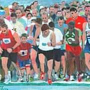 Ashland Half Marathon Art Print