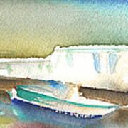 Ashore In Lanzarote Art Print