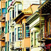 Asia Town Art Print