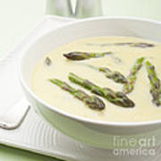 Asparagus Soup Art Print by Colin and Linda McKie