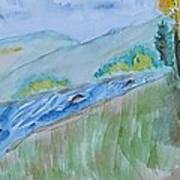 Aspen Cabin Art Print