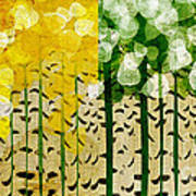 Aspen Colorado 4 Seasons Abstract Art Print