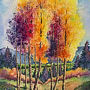 Aspen Overlook Art Print