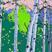 Aspensincolor Green Art Print