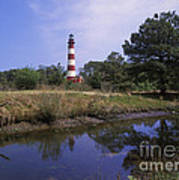 Assateague Lighthouse - Fm000081 Art Print