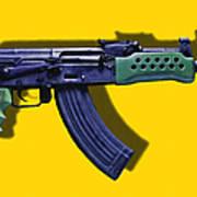 Assault Rifle Pop Art - 20130120 - V2 Art Print
