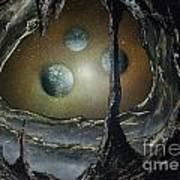 Asteroid's Eye Art Print