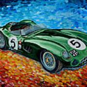 Aston Martin Dbr1 Art Print