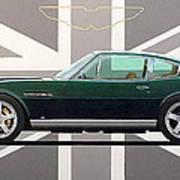 Aston Martin V8 Vantage Art Print