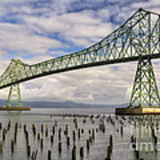 Astoria Bridge Art Print