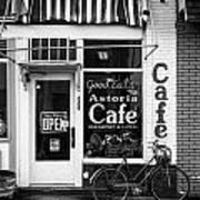 Astoria Cafe Art Print