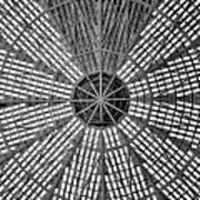 Astrodome Ceiling Art Print