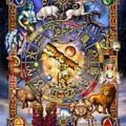 Astrology Art Print by Ciro Marchetti