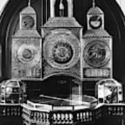 Astronomical Clock, C1750 Art Print