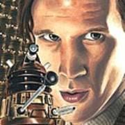 Doctor Who - Asylum Of The Daleks Art Print