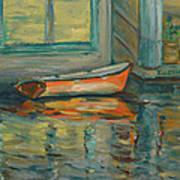 At Boat House 2 Art Print