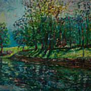 At Carondelet Park Art Print