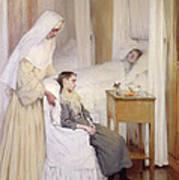 At Notre-dame Du Perpetuel Bon Secours Hospital Art Print