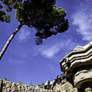 At Parc Guell In Barcelona - Spain Art Print
