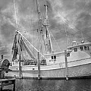 At Rest In The Harbor Art Print
