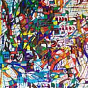at the age of three years Avraham Avinu recognized his Creator Art Print