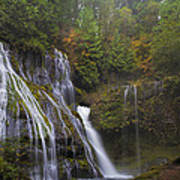 At The Bottom Of Panther Creek Falls Art Print