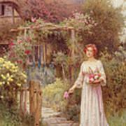 At The Garden Gate Art Print
