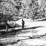 At The Lake-42 Art Print